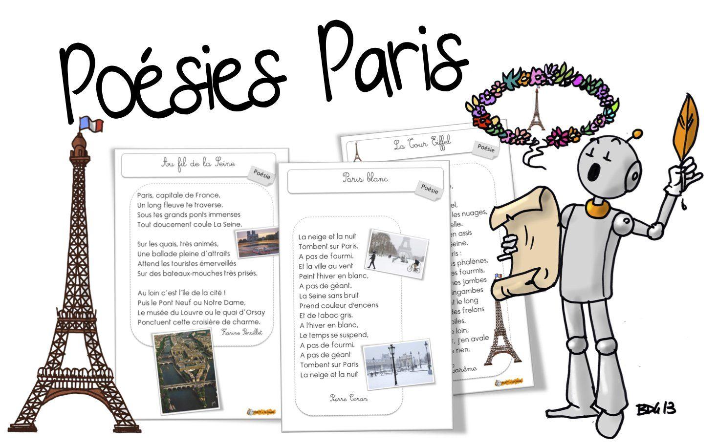 Poésies Paris Europe Ecole Paris Poesie Ecole Et