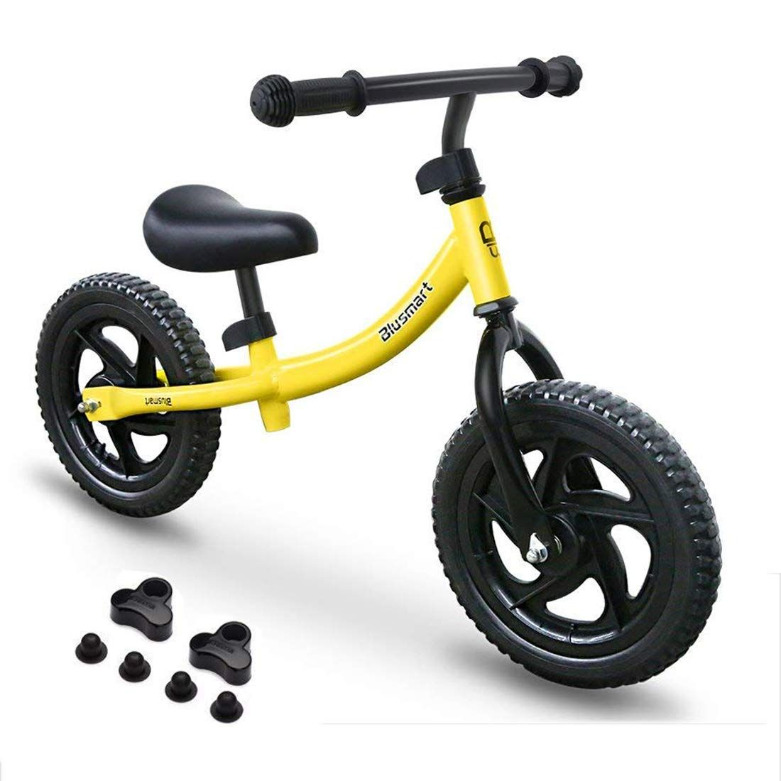 Kids Blusmart Balance Bike No Pedals In Color Yellow 29 99