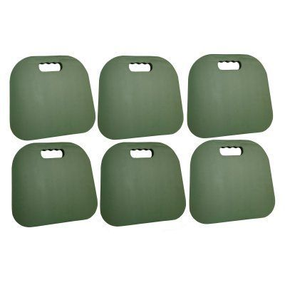 Bon Buffalo Tools Foam Rubber Outdoor Seat Cushions   Set Of 6   Green   STCHSET