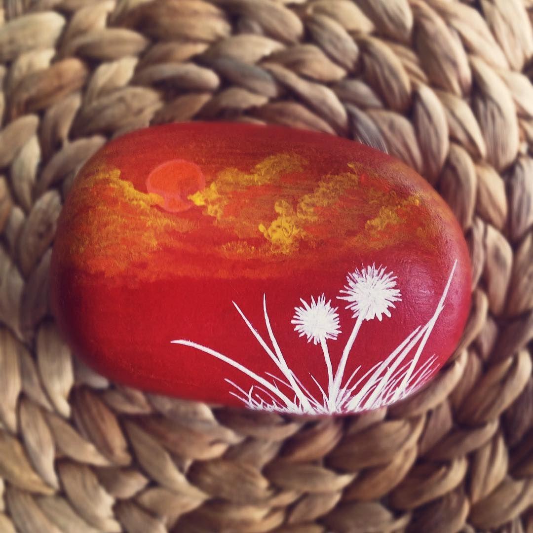 Gun Batimi Tas Boyama Tasboyama Stone Painting