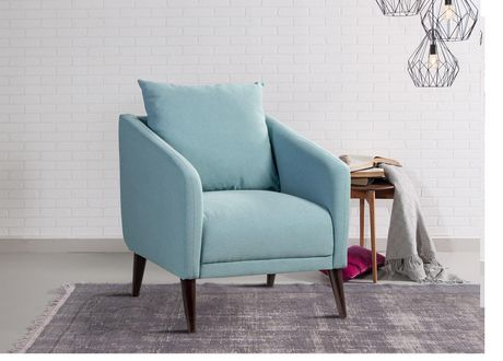 Topline Home Furnishings Teal Accent Chair In 2019