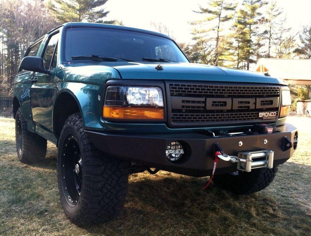 1996 Ford Bronco Xlt Ford Bronco Bronco Bronco Truck