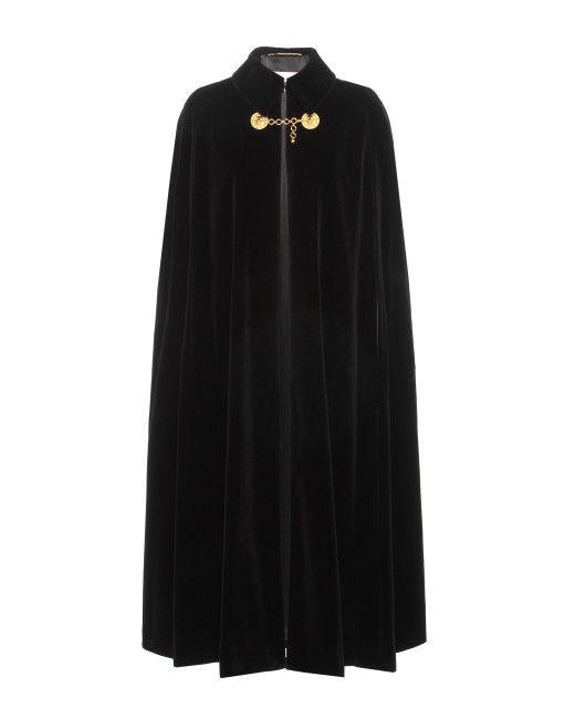 8358f9be0c5 Women's Black Velvet Cape | capes | Cape, Fashion, Velvet