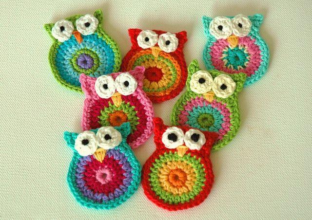 Crochet Owls   Häkelsachen   Pinterest   meine Schwester, Basteln ...