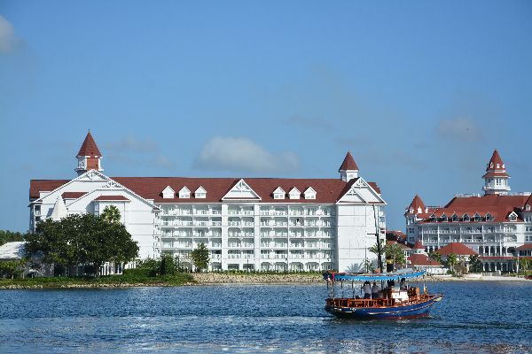 The Grand Floridian  Resort...a lake view.