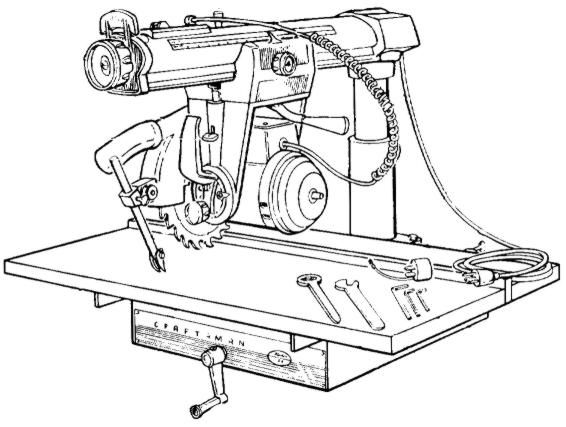 Craftsman 10 Quot Radial Arm Saw 113 29402 Amp 113 29440