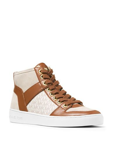 01b22b713769 Michael Michael Kors Matty High-Top Sneakers Women s Vanilla 6.5 ...