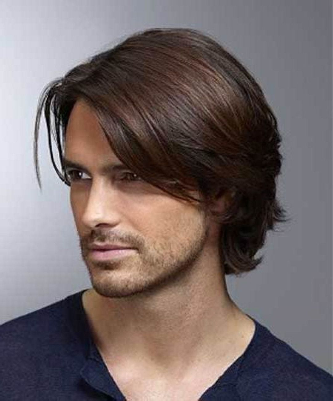 hairstyle for medium length hair for men 1000+ images about