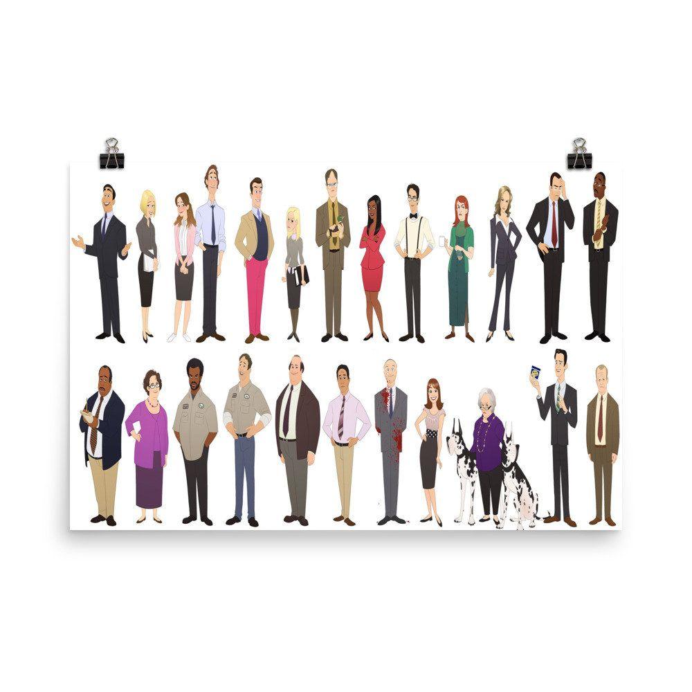 Dunder Mifflin Scranton Branch The Office Employees Group