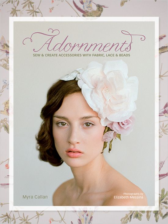 Adornments by @Twigs & Honey with photos by @Elizabeth Messina - A MUST HAVE for the DIY bride