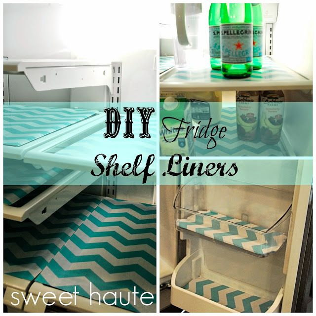 DIY Refrigerator Shelf Liners - how to make fridge coasters with any ...