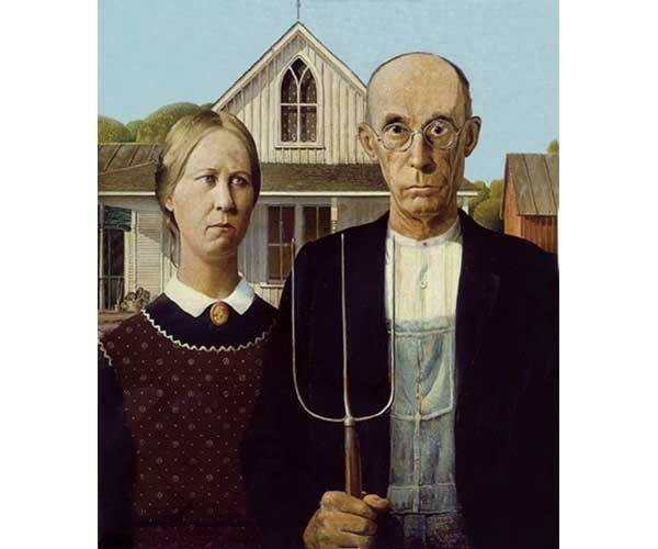 american gothic was painted by grant American gothic is one of the country's most iconic and recognizable works of 20th century art, and from march 2nd to june 10th, 2018, the painting will be on.