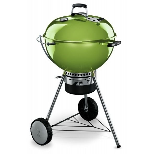 Master Touch 57 Cm Weber In Spring Green Charcoal Bbq Weber Bbq Weber Charcoal Grill