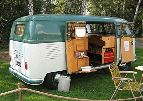 1950 VW Westfalia camper van - had one very similar many years ago.