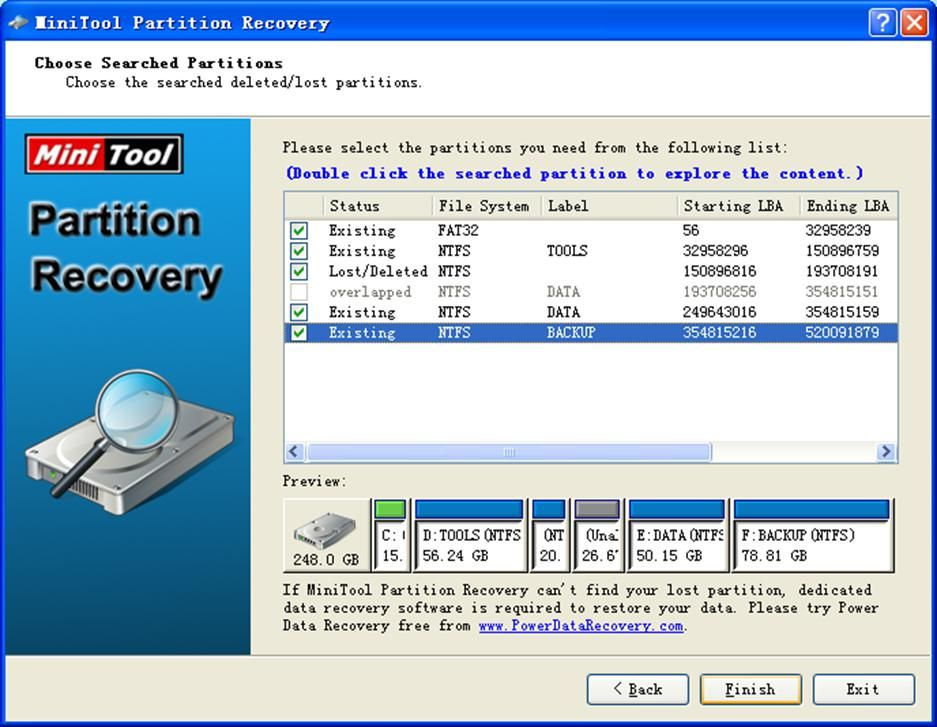 free partition recovery software