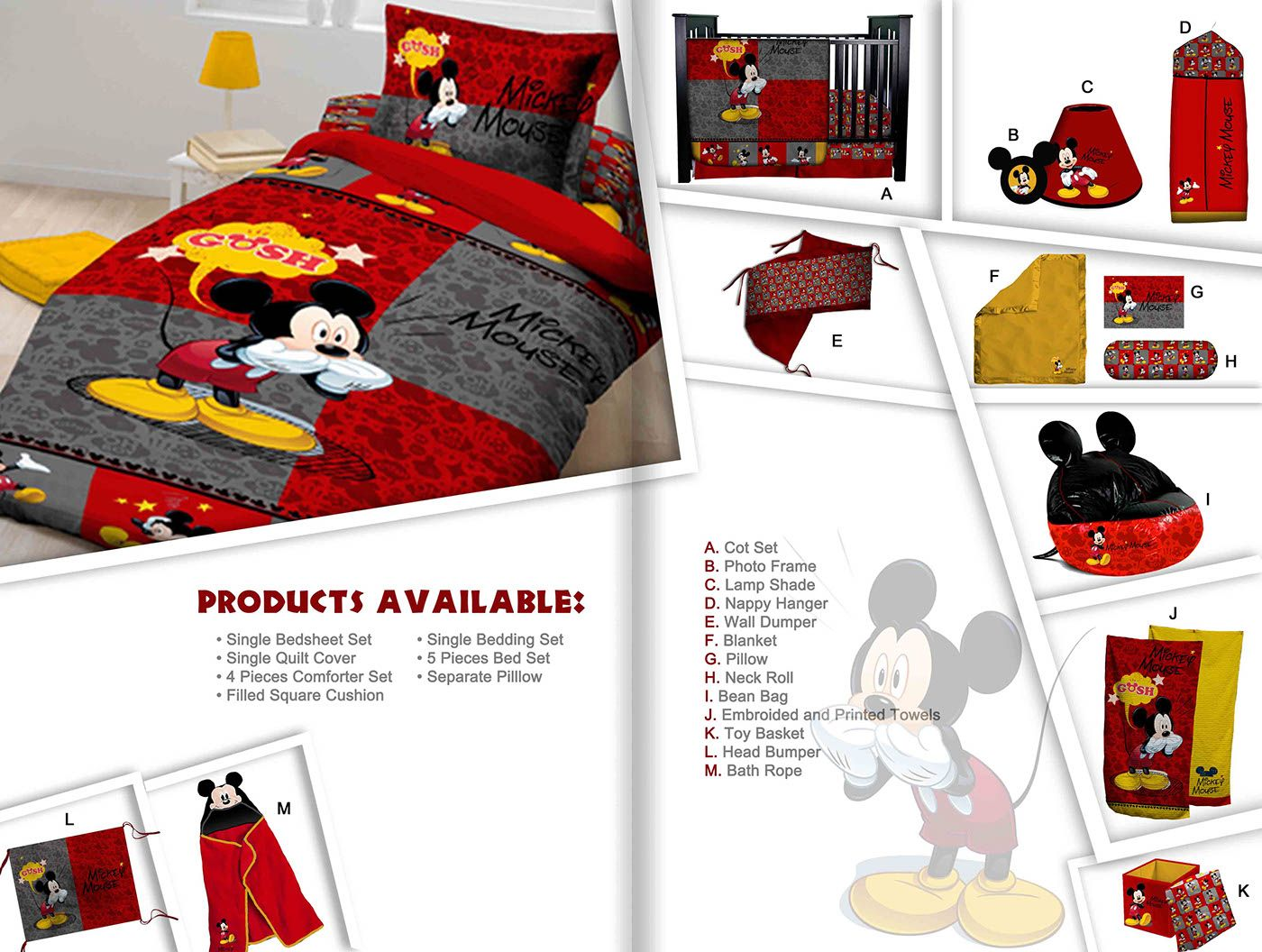 Bedding Catalog Design For Disney On Behance With Images
