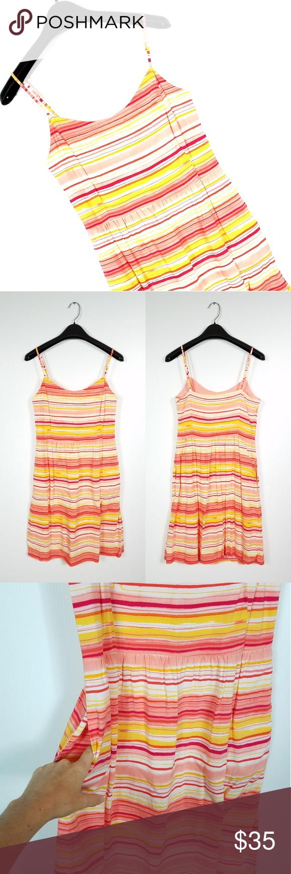 Gap Linda Striped Casual Dress  My Posh Picks  Pinterest  Flaws