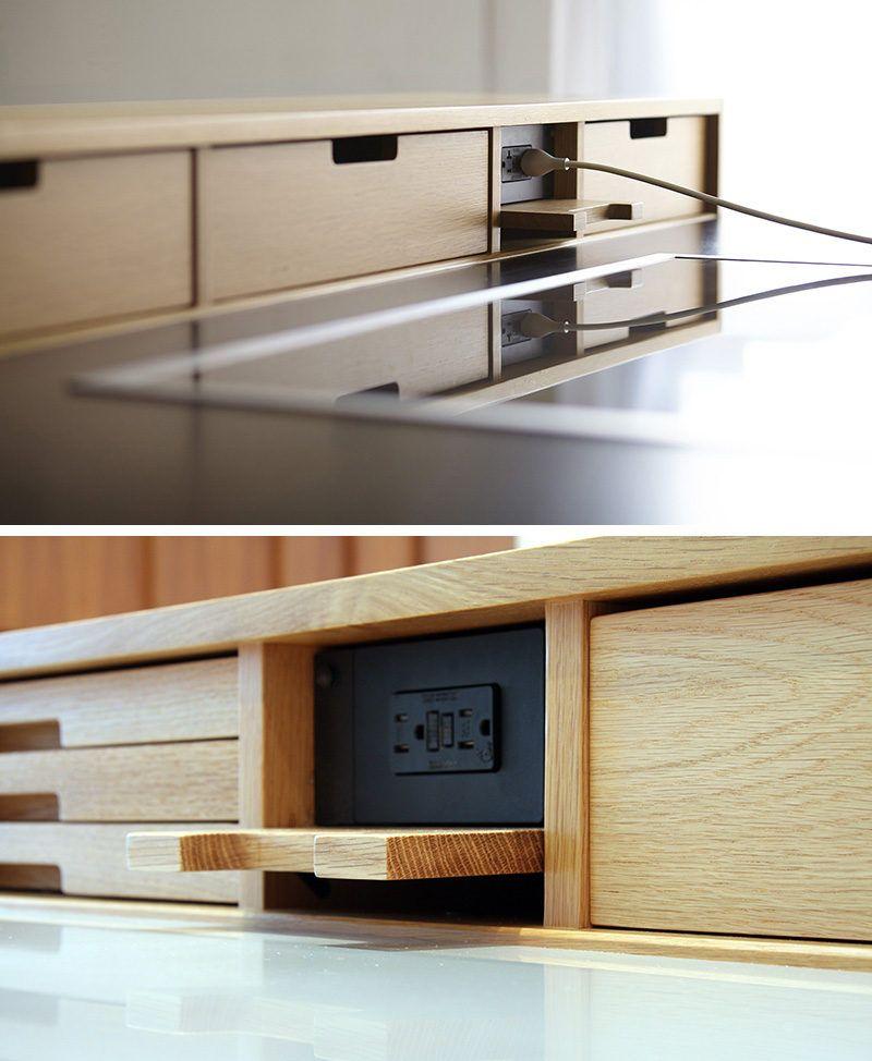 Kitchen Design Idea Hide Your Electrical Outlets House Design