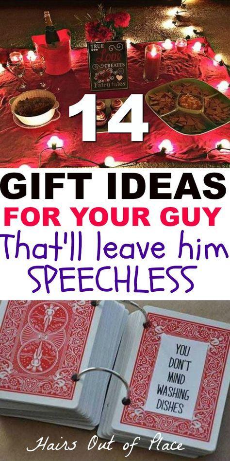 12 Cute Valentines Day Gifts For Him Best Boyfriend