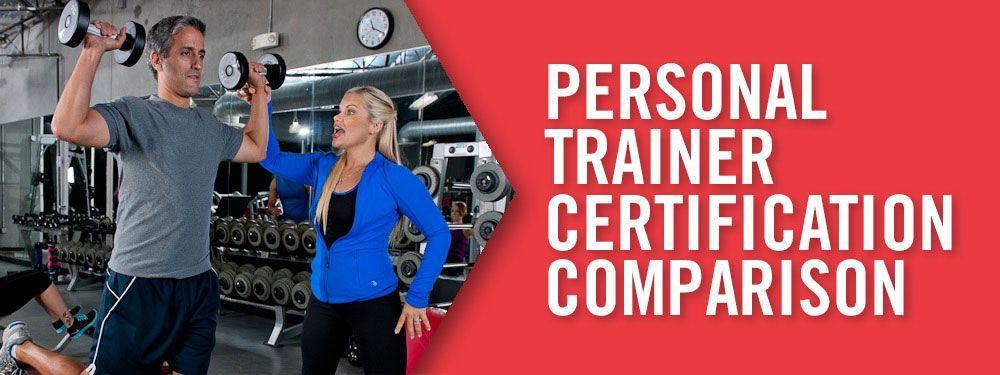 personal training certification comparison, i did find some ...