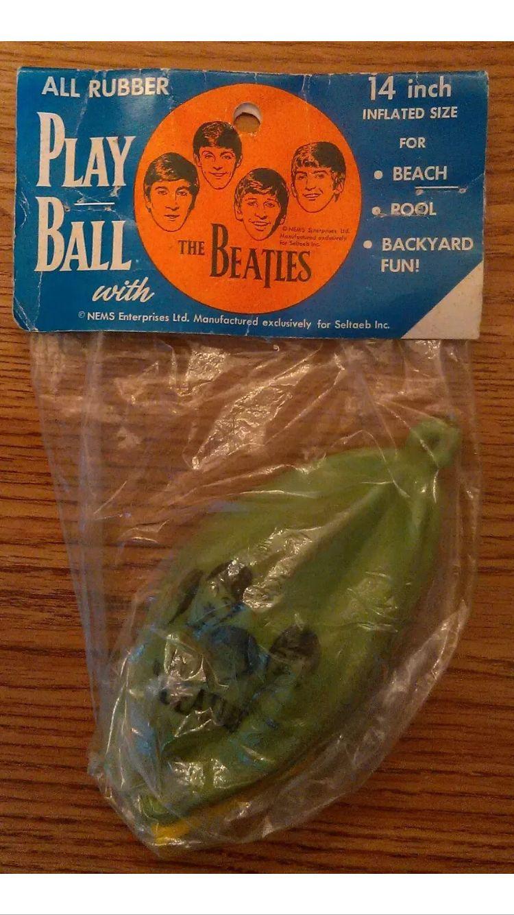 the official beatles blow up beach ball nems seltaeb from 1964
