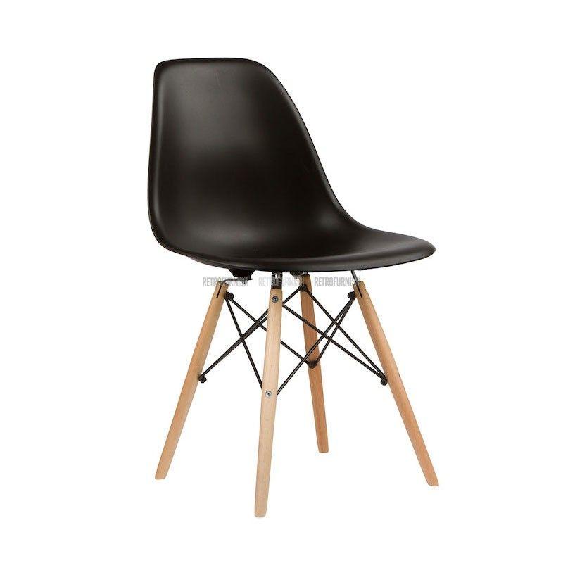 Reproductie Design Stoelen.Dsw Stoel In Plastiek Geinspireerd Door Charles Eames