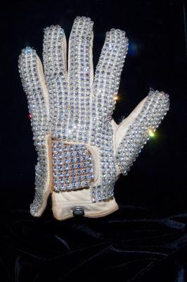michael jackson sequin glove