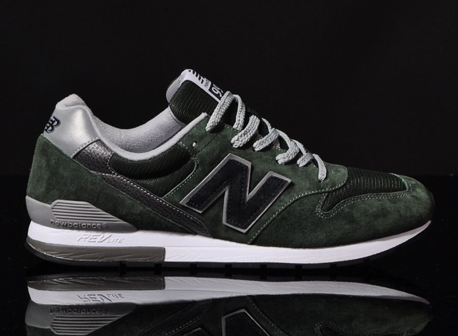 new balance green and black