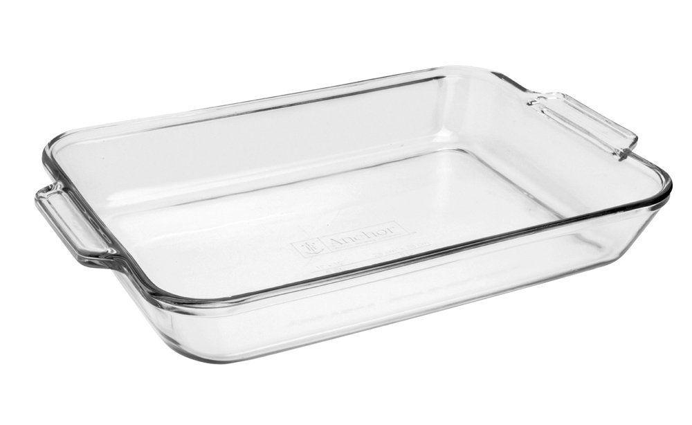Anchor Hocking 81938obl11 Oven Basics Bake Dish 5 Quart Clear