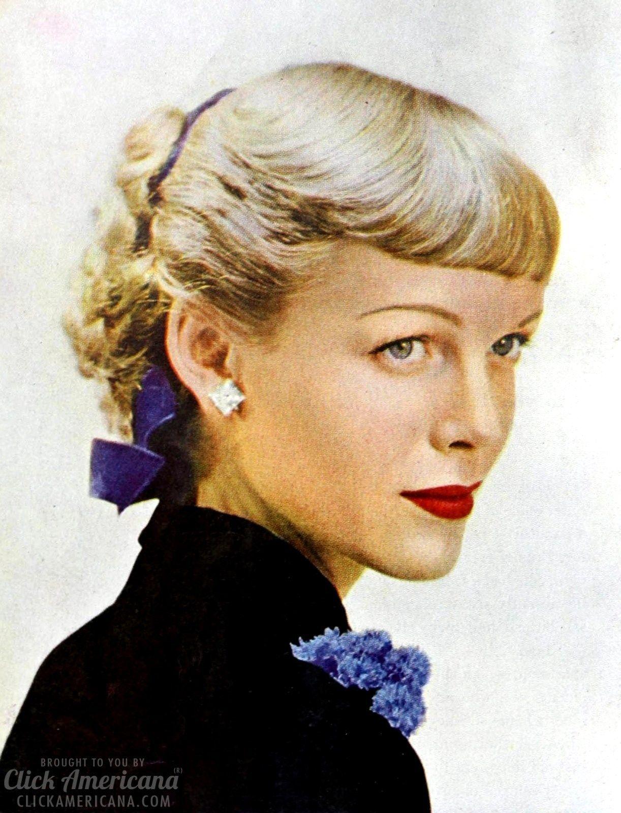 fabulous '40s hair styles for women (1948 | hair & make up