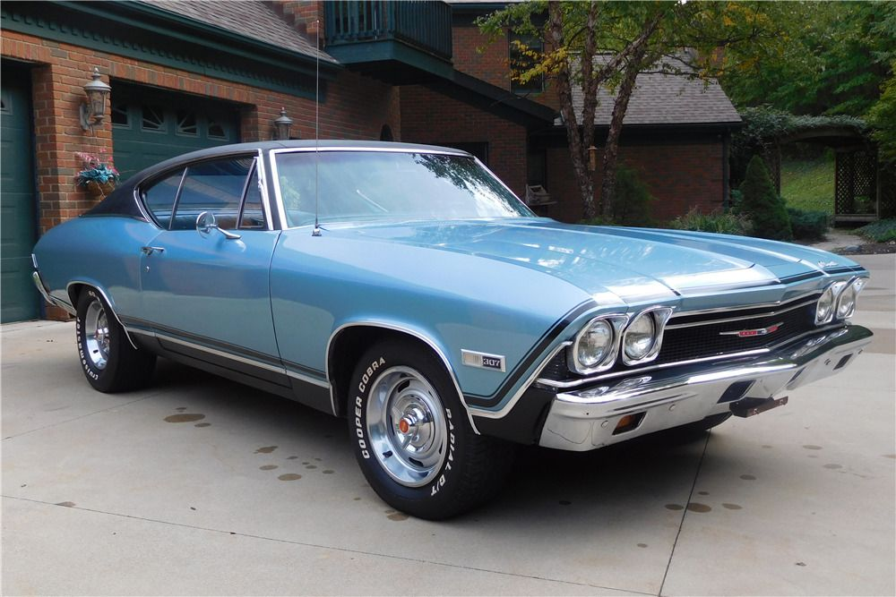 Sold At Scottsdale 2017 Lot 358 1968 Chevrolet Chevelle In 2020 Chevrolet Chevelle Chevelle Chevrolet