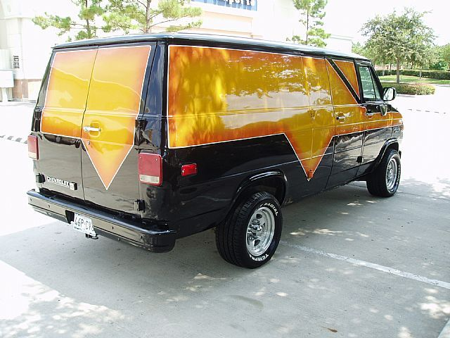 1992 Chevrolet Custom Van For Sale Houston Texas