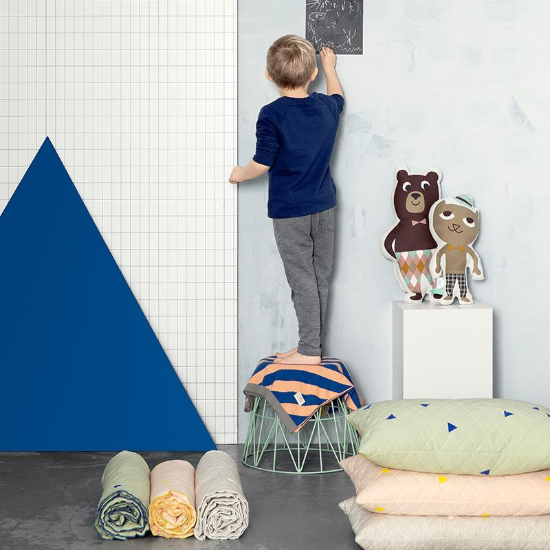 Hut Ab Mr Cat Kissen Von Ferm Living Kids Room Wallpaper Kids