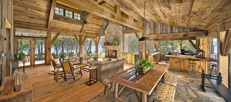 Platt Architecture, PA   Family Lake Lodge     Mountain dream ...
