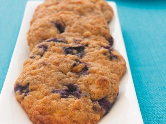 Blaubeerkekse ist ein Rezept mit frischen Zutaten aus der Kategorie Gebäck. Probieren Sie dieses und weitere Rezepte von EAT SMARTER!