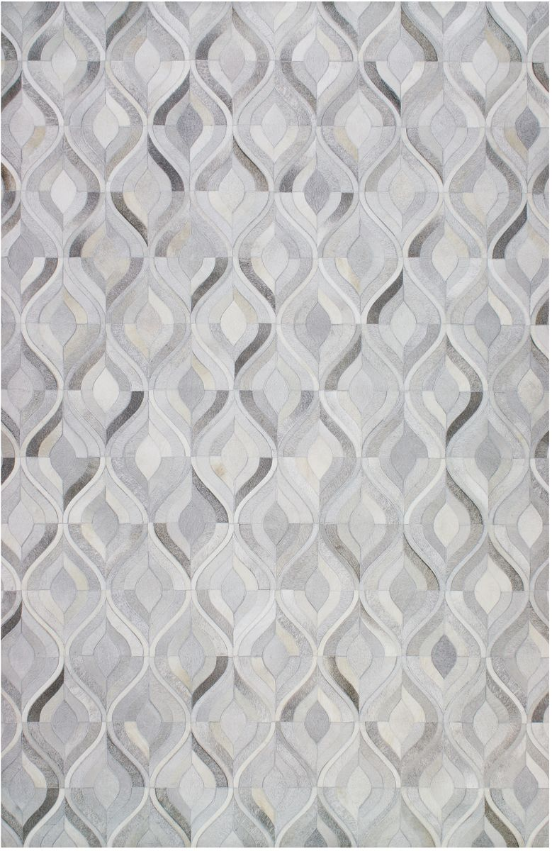 Jaunty Tahoe Ta 562 Cloud Leather Area Rug Is Hand Crafted Natural Un Dyed Cowhide Hair On Hide Leather Pieces Are Hand Posi Grey Geometric Rug Area Rugs Rugs