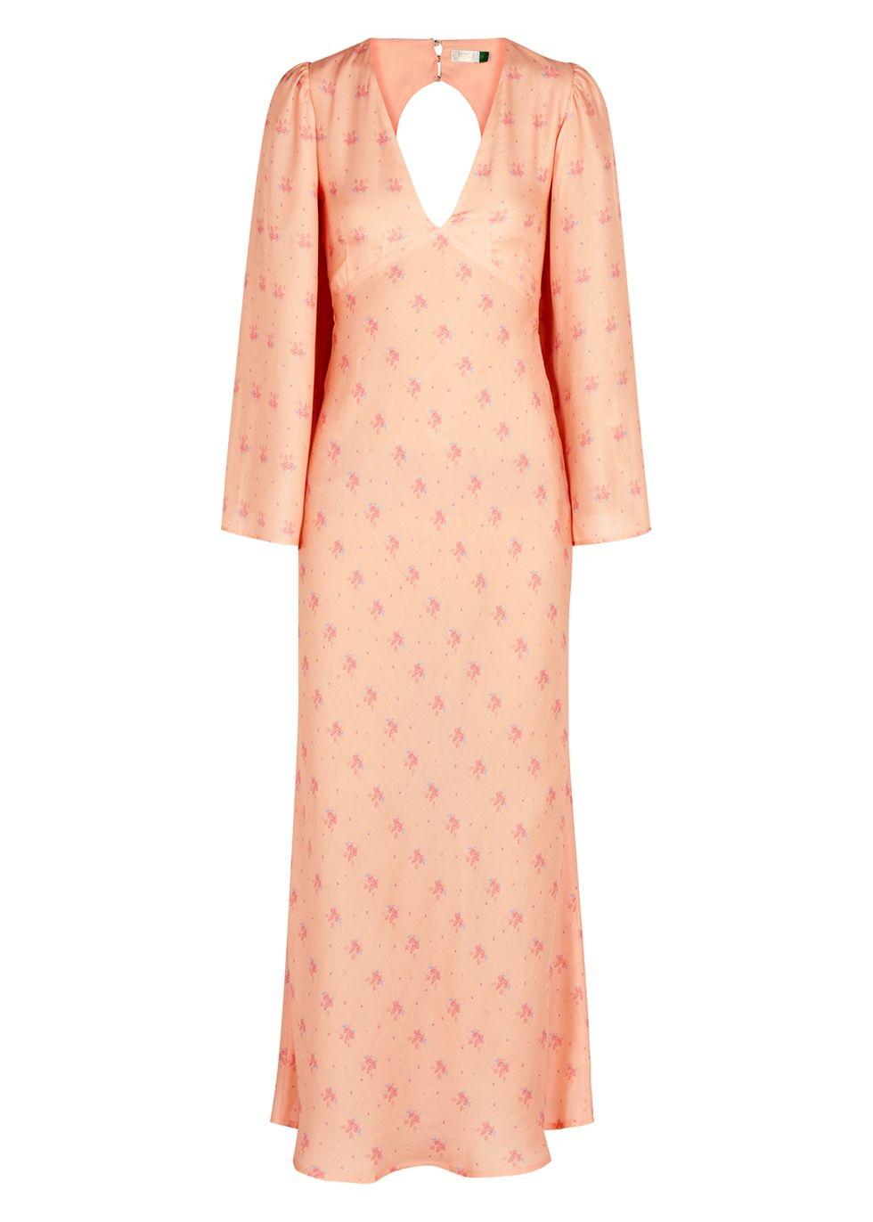 Pin By Onyinye Njoku Bafor On Things To Wear Dresses Fashion Silk Midi Dress [ 1372 x 980 Pixel ]
