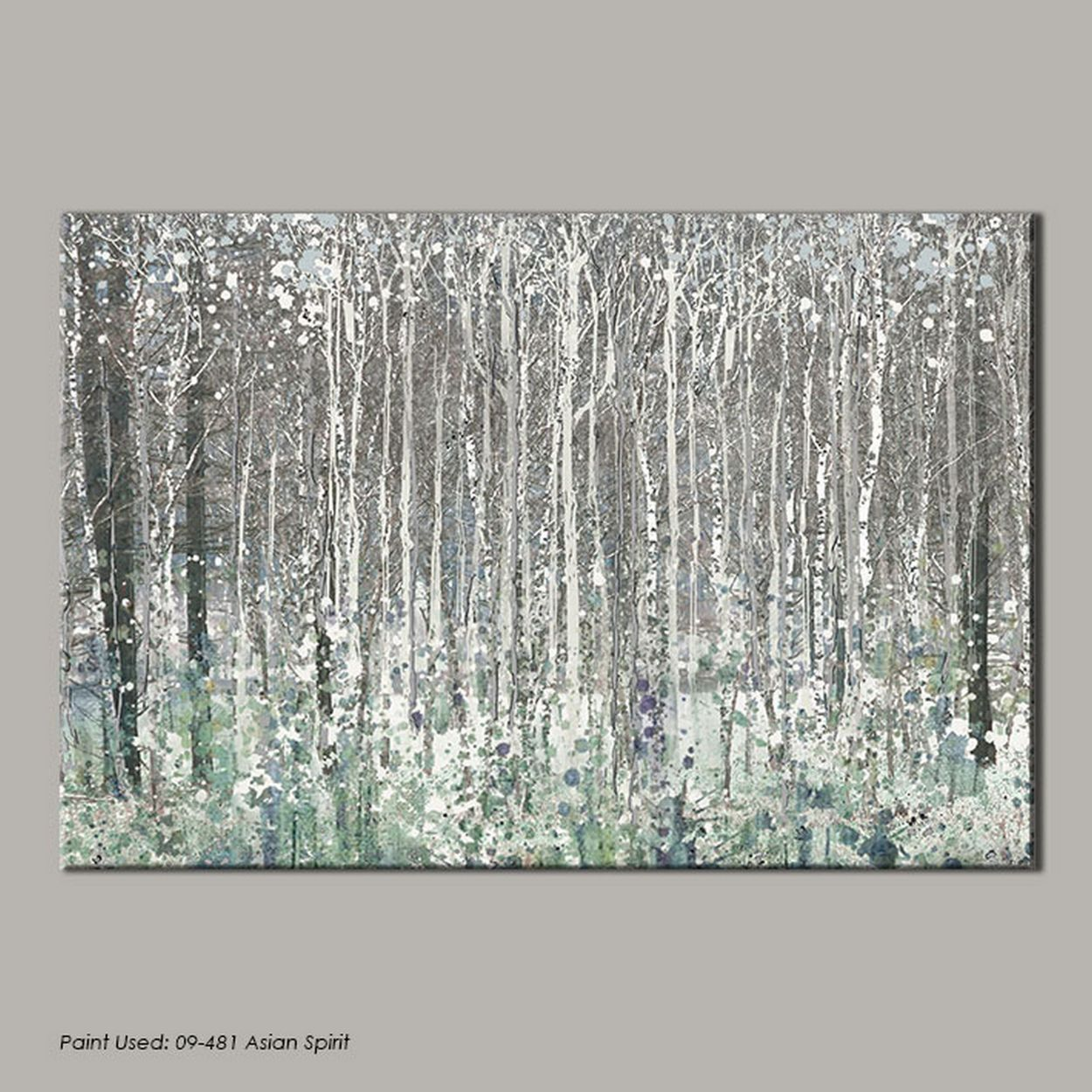 Classic and elegant this large scale printed canvas from the Graham ...