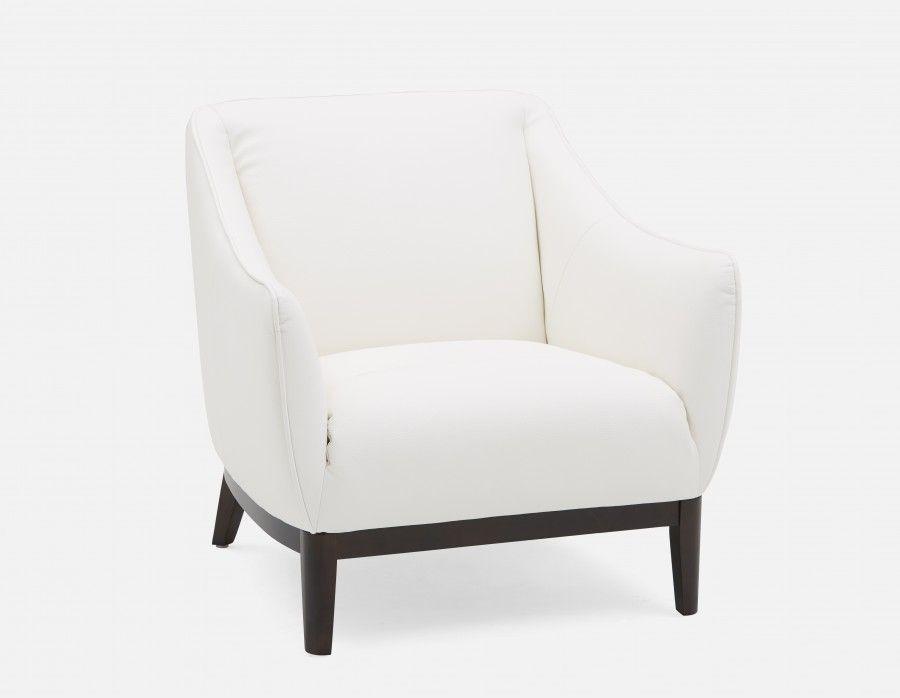 White Armchair Noah Armchair White White Armchair Modern Furniture Living Room Armchair