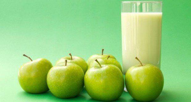 Avena con manzana verde para bajar de peso