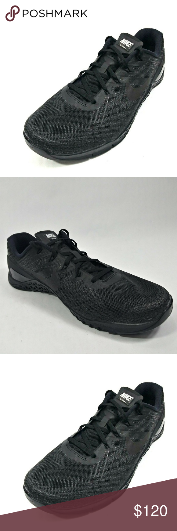 c960ecd5c8e2f Nike Metcon 3 III CrossFit Shoe 852928-002 Nike Metcon 3 III Triple Black  Men's CrossFit Shoes Size 10 852928-002 A030307PM Nike Shoes Athletic Shoes