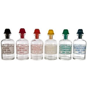 Pyrex Apothecary Bottle Set, $319, now featured on Fab.