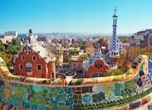 You can find Antoni Gaudí's archetectural marvel's in  Barcelona Spain.