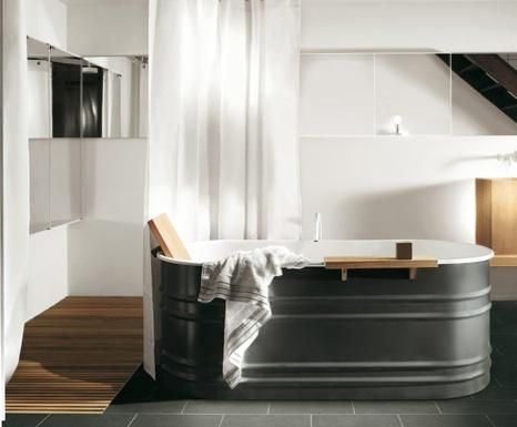 bath: vieques tub from agape | lake | home, budget bathroom