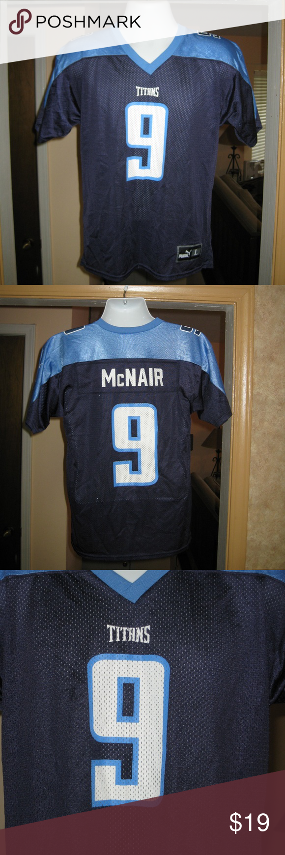 SOLD!! Steve McNair Tennessee Titans Jersey   Tennessee titans ...