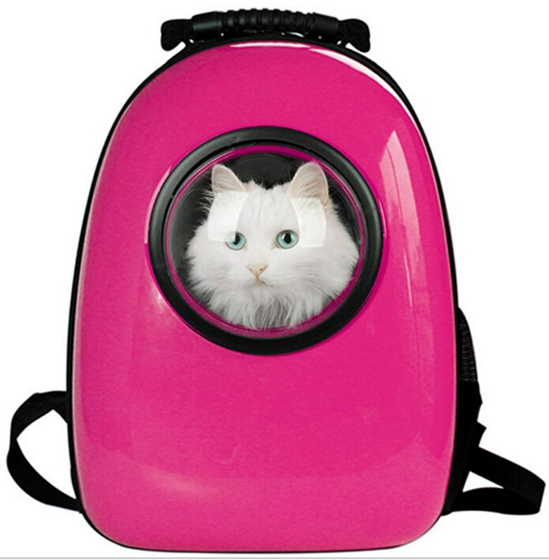 Pet Cat Travel Space Capsule Breathable Bag Portable Carrier Backpack Knapsack