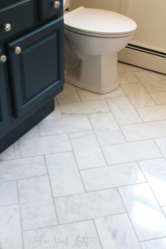 One Room Challenge Bathroom Reveal Tile Remodel Budget Bathroom Remodel Bathroom Flooring