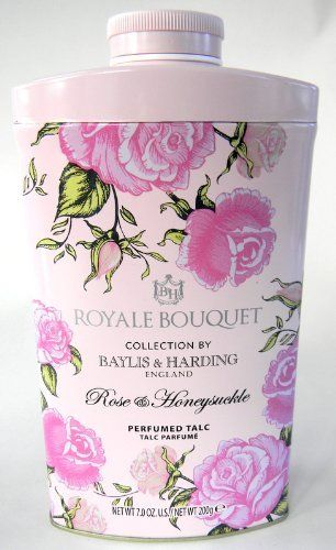 Baylis And Harding Royale Bouquet Rose Honeysuckle Perfumed