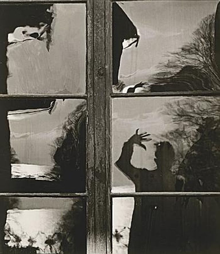 """Toni Schneiders (1920-2006), Self portrait, 1952 