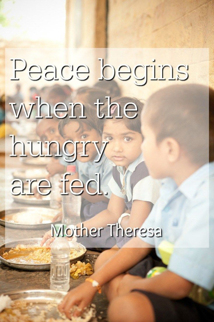 Feeding The Hungry With Marys Meals Mm4 Quotable Quotes